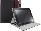 85% off Rocketfish MY WAY Red Leatherlike Case for Apple iPad