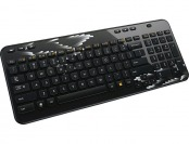 50% off Logitech K360 Wireless Keyboard - Coral Fan