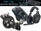 50% off Select Logitech PC Gaming Accessories