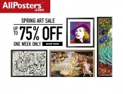 Allposters Spring Art Sale - Up to 75% off