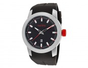 82% off Red Line RL-10016-01 Gauge Men's Watch