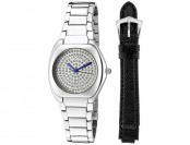 86% off Croton Czarina Stainless Steel Interchangeable Strap Watch