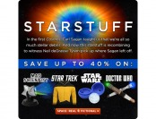 Up to 40% off Science & Sci-Fi Gear at ThinkGeek.com