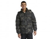 75% off NordicTrack Men's Quilted Hooded Jacket - Camouflage