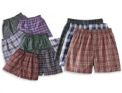 81% off 10-Pack: Fruit of the Loom Classic Boys' Plaid Boxer Shorts