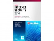 Free McAfee Internet Security 2014 - 1 PC (Product Key Card)