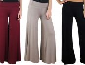 75% off Free to Live Palazzo Pants, Multiple Colors Available