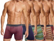 60% off 6-Pack of Assorted Men's Fashion Boxer Briefs