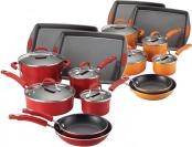 61% off Rachael Ray Porcelain II Nonstick 12-Pc Cookware Set