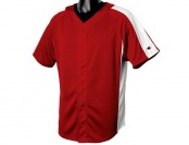 74% off Champion Pieced Mesh Button Baseball Jersey, 3 Styles