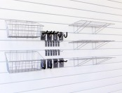 36% off 45-Piece Proslat Hook, Shelf and Basket Combo Kit