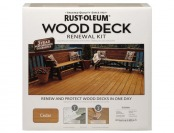 66% off Rust-Oleum 265130 Wood Deck Renewal Kit