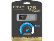 72% off PNY Turbo Plus 128GB USB 3.0 Flash Drive P-FD128TBOP-GE