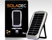 75% off Soladec Hybrid Portable 4,000mAh Solar Powerbank