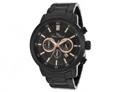 $415 off Lucien Piccard Monte Viso Men's Watch 12011-BB-11-RA