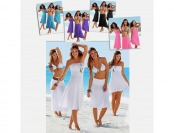 $32 off 4-in-1 Strapless Beach Dress, 5 Colors