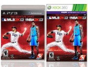 $55 off 2K Sports' NBA 2K13 and MLB 2K13 Combo - Xbox 360 or PS3