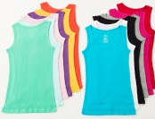73% off 12-Pack of Women's Ribbed Cotton Muscle Tank Tops