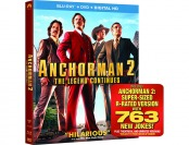 68% off Anchorman 2: The Legend Continues (Blu-ray + DVD + Digital)