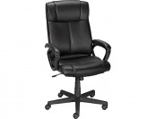 53% off Staples Turcotte Luxura High Back Managers Chair, Black