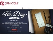 Up to 85% off 6PM.com Tax Day Sale Event