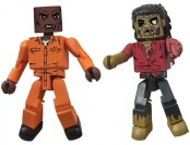70% off Walking Dead Minimates Series 3 Dexter & Zombie Figures