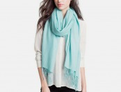 $18 off Lavish Wool & Silk Blend Pashmina Scarfs, 24 Colors