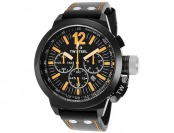 $539 off TW Steel CE1030R Canteen Chrono Leather Watch