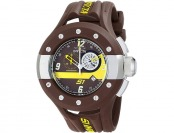 $905 Invicta Men's 11128 S1 Rally Swiss Quartz Brown Watch