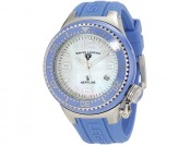 $825 Swiss Legend Neptune Mother-Of-Pearl Dial Watch