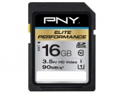 $21 off PNY Pro Elite 16GB SDHC Class 10 UHS-1 Memory Card