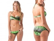 $34 off Oakley Graphite Stripe Hip Hugger Bikini Bottom