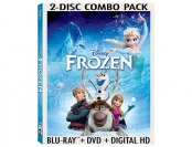 58% off Disney's Frozen Blu-ray / DVD Combo