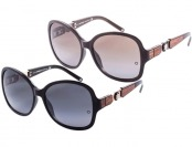 $429 off Montblanc MB420S Oversized Women's Sunglasses