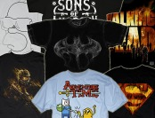 57% off Changes Graphic T-Shirts, 25 Styles - Halo, Batman, Simpsons
