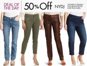 50% off NYDJ (Not Your Daughter's Jeans) Women's Denim