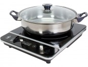 50% off Rosewill 1800W Induction Cooker with Stainless Steel Pot RHAI-13001