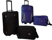 80% off American Tourister 2pc Luggage Set - Black, Blue or Orange