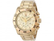 $797 off Swiss Precimax Crew Pro Gold Stainless Steel Watch