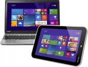 $260 off Toshiba Satellite Touch Laptop & Encore Tablet Package