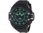$286 off Joshua & Sons Men's Swiss Quartz Crown Guard Watch