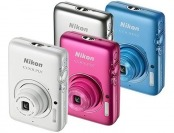 $100 off Nikon Coolpix S02 13.2-MP Digital Cameras, 4 Colors