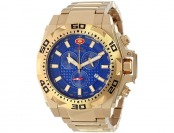 $795 off Swiss Precimax Men's Quantum Pro Blue Dial Gold Watch