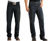 75% off Stetson Men's Standard Straight-Leg Denim Jeans