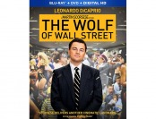 75% off The Wolf of Wall Street (Blu-ray + DVD + Digital HD)