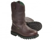 "71% off John Deere 12"" Wellington Leather Men's Work Boots"