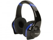 78% off Denon AH-D320BU Urban Raver On-Ear Headphones - Blue