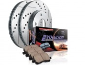 $80 off Power Stop K137 Front Ceramic Brake Pad & Rotor Kit