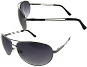 82% off Kenneth Cole Reaction Gunmetal Aviator Sunglasses