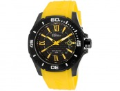 $355 off Elini Barokas 10196-BB-01-YLA Artisan Silicone Watch